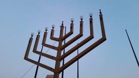 Chanukkah ståtar Royaltyfri Foto