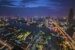 Chao Река Phraya Бангкок Стоковые Фото