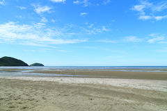 Chao Lao Beach på chanthaburien Arkivbild