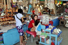 Chao Lo, Thailand: Sea Shell Souvenir Shop Stock Photos