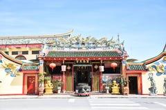 Chao Mae Lim Ko W świątyni, Pattani, Tajlandia fotografia stock