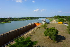 Chao Phraya Dam. Royalty Free Stock Images