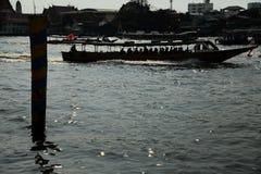 Chao Phraya Ekspresowa łódź Zdjęcie Royalty Free