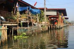 Chao Phraya flod Royaltyfri Fotografi