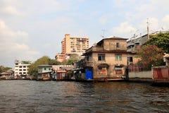 Chao Phraya flod Arkivbilder