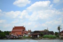 Chao Phraya Fluss Lizenzfreie Stockfotografie