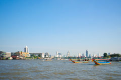 Chao Phraya river Royalty Free Stock Photography