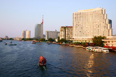 Chao Phraya River Royalty Free Stock Photo