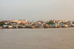 Chao Phraya river Royalty Free Stock Images