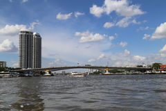 Chao Phraya River Photo stock