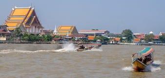 Chao Phraya River in Bangkok Royalty Free Stock Image