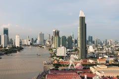 Chao Phraya River, Bangkok City, Thailand.  Stock Image