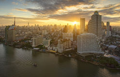 Chao Phraya River, Bangkok, Thailand Stock Image