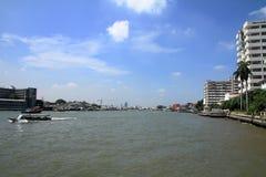 Chao Phraya river in Bangkok. Thailand Stock Photography