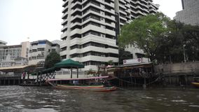 Chao Phraya river stock video