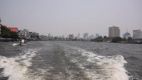 Chao Phraya river stock footage