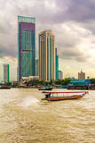 Chao Phraya river, in Bangkok Stock Photography