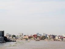 CHAO PHRAYA river boats Transportation, BANGKOK, THAILAND Stock Image