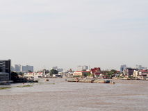 CHAO PHRAYA river boats Transportation, BANGKOK, THAILAND Stock Photo