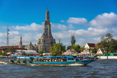 Chao Phraya river cruise Royalty Free Stock Photography