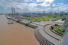 Chao Phraya River.gaden Stock Photography