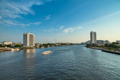Chao Phraya River. Royalty Free Stock Images