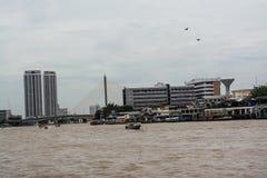 Chao Phraya River Royalty Free Stock Photography