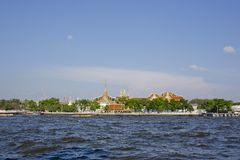 Chao Phraya River is a major river in Thailand, with its low all Stock Photos