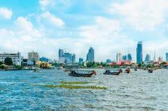 Chao Phraya River Menam in Bangkok, Thailand Royalty Free Stock Images