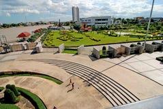 Chao Phraya River.Parks. Lizenzfreies Stockfoto