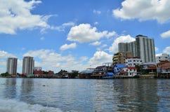 Chao Phraya River. Royalty Free Stock Photo