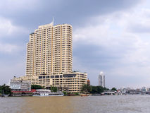 Chao Phraya river view is one of landmark in Bangkok Royalty Free Stock Image