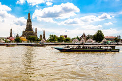 Chao Phraya river Stock Photography