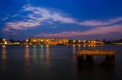 Chao-Phraya-Rivière Images libres de droits
