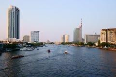 chao phraya rzeka zdjęcie stock