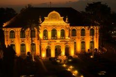 Chao Phya Abhaibhubejhr Hospital i Thailand Arkivfoton