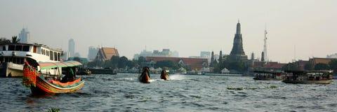 Chao Pra Ya flod royaltyfri bild