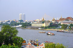 The Chao Praya River in Bangkok Royalty Free Stock Photo