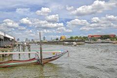 Chao Praya River in Bangkok Stock Images