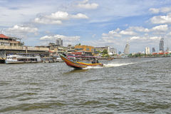 Chao Praya River in Bangkok Royalty Free Stock Image