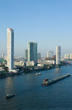 Chao Praya River in Bangkok, Thailand Stock Photo