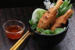 Vietnamese Chao Tom (Minced Pork On Sugarcane Stick) Stock Photo ...