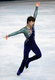 Chao YANG (CHN) free skating Stock Photos