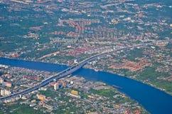 Chaophaya rzeka Obrazy Royalty Free