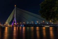 Chaophraya flod Royaltyfri Foto