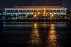 Chaophraya flod Royaltyfria Bilder