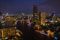 Chaophraya Fluss Lizenzfreies Stockfoto