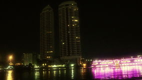 Chaophraya river stock video footage