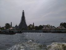 Chaophraya river main of life bangkokcity. Thailand Royalty Free Stock Photos