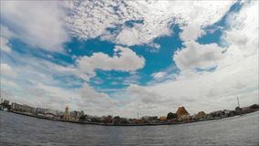 Chaophraya River Time Lapse stock video